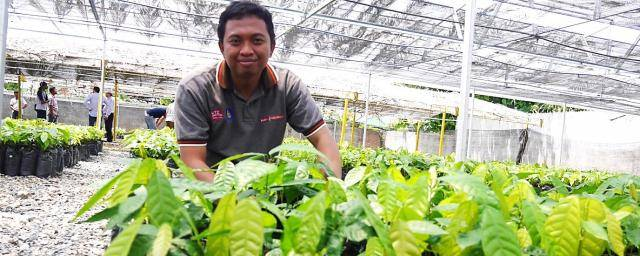 Umar, an agronomist with Barry Callebaut since 2013