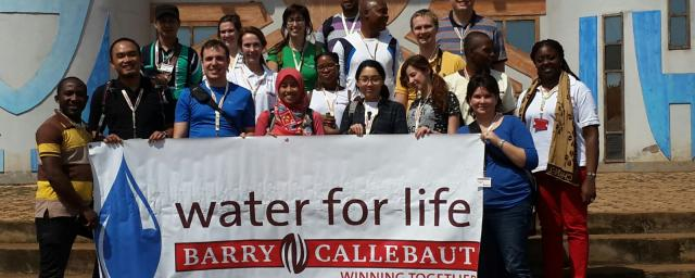 Water for Life group in front of Civilization Museum