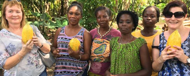 Empowering women in cocoa