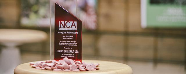 Ruby chocolate recognized in Most Innovative New Product Awards