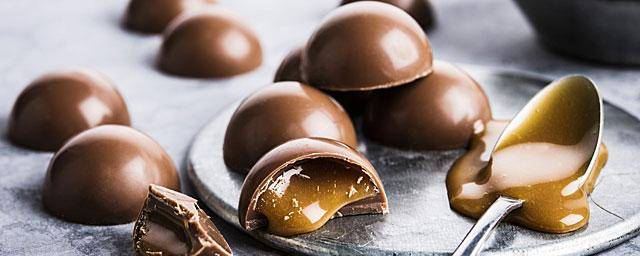 Caramel in confectionery