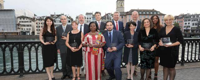 Barry Callebaut Chairman's Award 2018 group picture