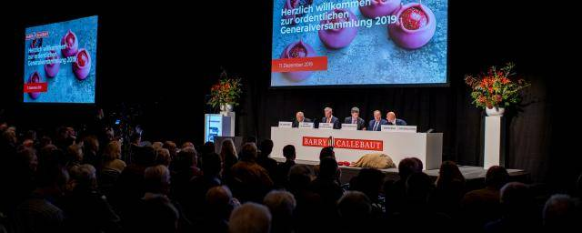 Barry Callebaut Annual General Meeting