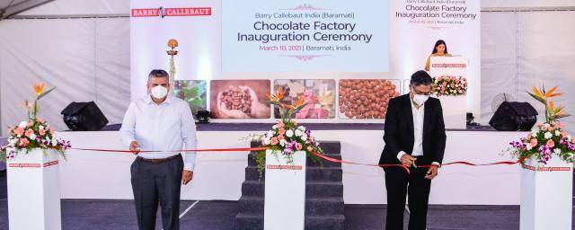 Barry Callebaut Baramati Factory India Ribbon Cutting Ceremony