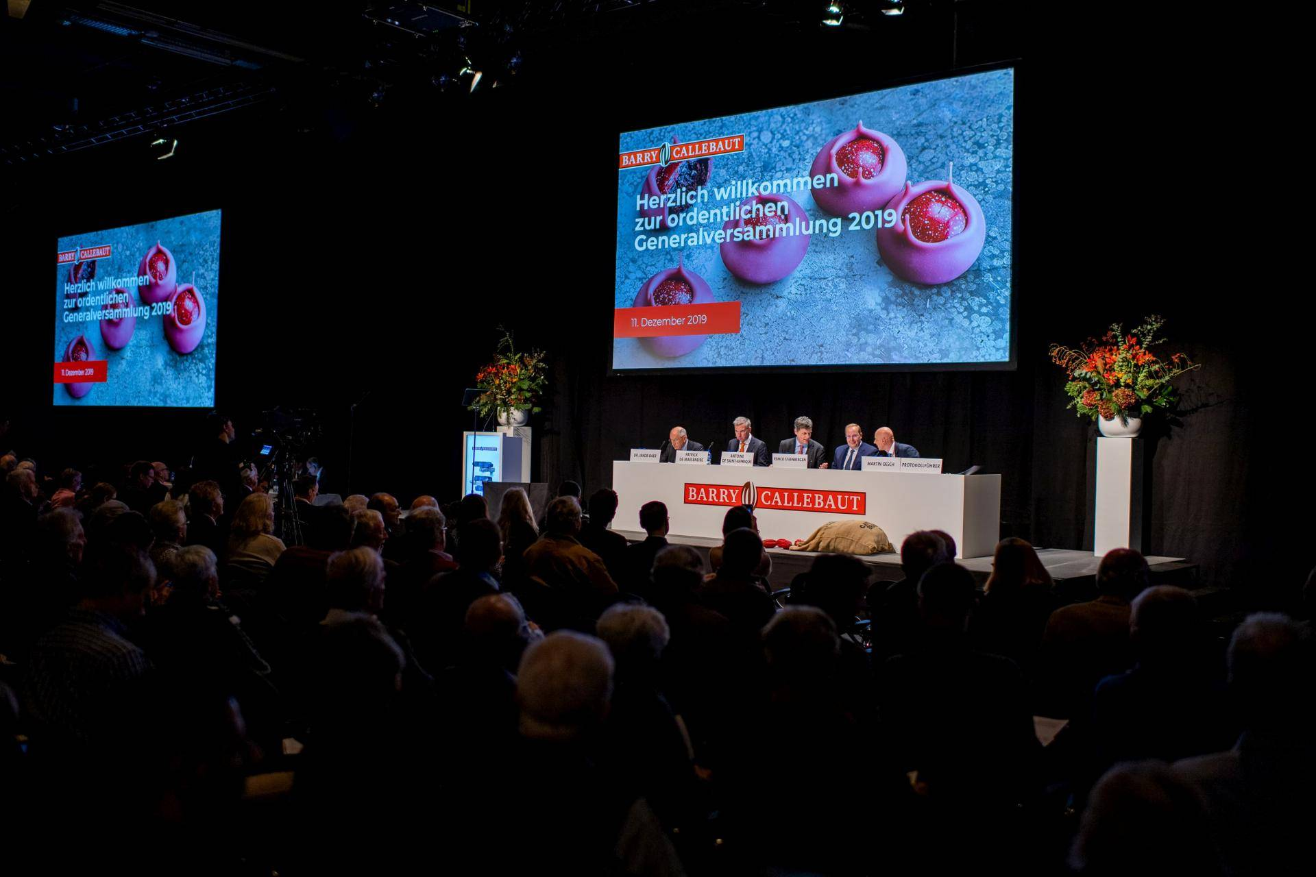 Annual General Meeting 2021 Barry Callebaut