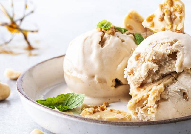 Plant-based ice cream