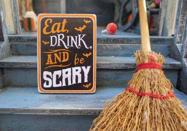 """Eat Drink and be Scary"" at Halloween"